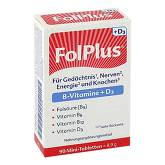 Folplus + D3 Tabletten