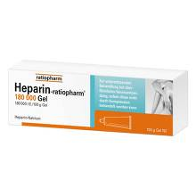 Heparin Ratiopharm 180.000 I.E.Gel