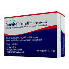 Ocuvite Complete 12 mg Lutein