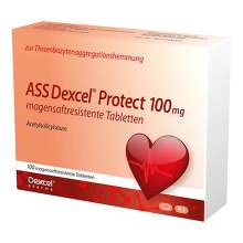 ASS Dexcel Protect 100 mg magensaftresistent Tabletten