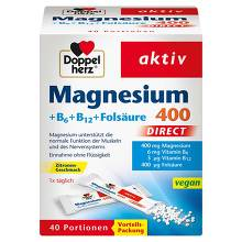 Doppelherz Magnesium+B-Vitamine direct Pellets