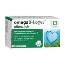 OMEGA3-Loges pflanzlich Kapseln