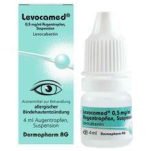 Levocamed 0,5 mg / ml Augentropfen Suspension