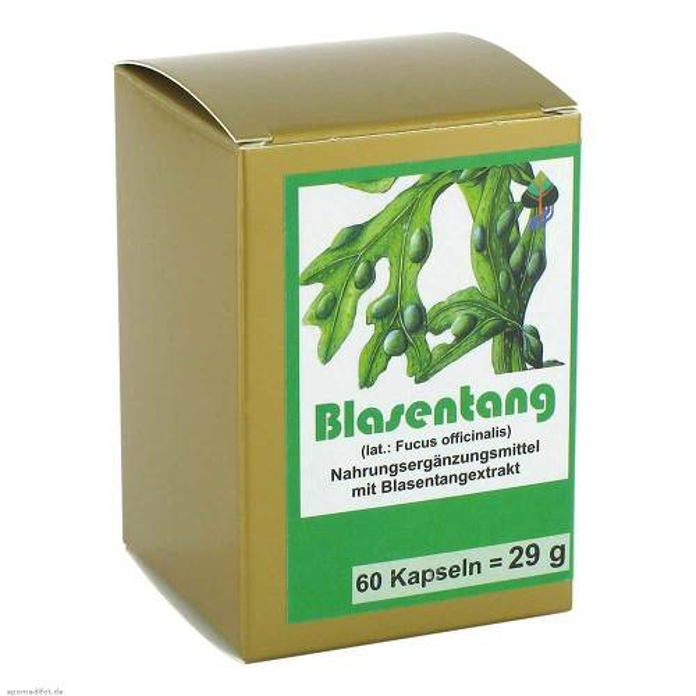 FBK-Pharma GmbH Blasentang Kapseln 00004860