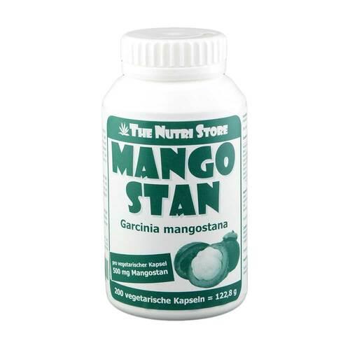 Hirundo Products Mangostan Garcinia mangostana 500 mg Kapseln 00170802