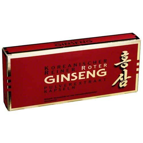 KGV Korea Ginseng Vertriebs GmbH Roter Ginseng Extrakt Kapsel 00434885