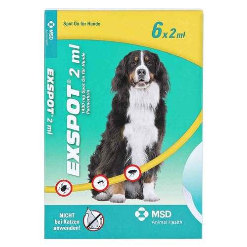 Intervet Deutschland GmbH Exspot Spot On Lösung für Hunde 00596398