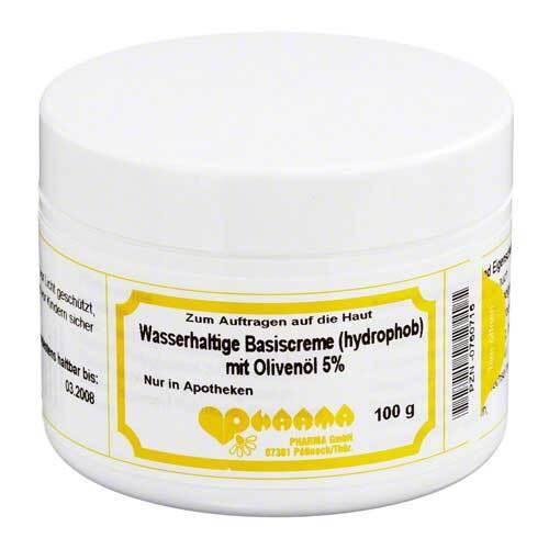 Pharmachem GmbH & Co. KG Wasserhaltige Basiscreme mit 5% Olivenöl 00760716