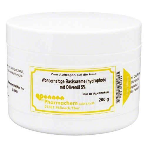 Pharmachem GmbH & Co. KG Wasserhaltige Basiscreme mit 5% Olivenöl 00760722