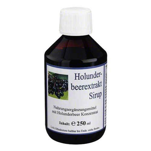 Hecht-Pharma GmbH Holunderbeerextrakt Sirup 01446092