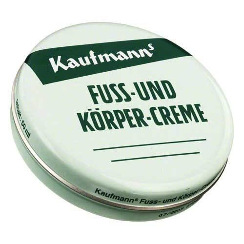 Walter Kaufmann Nachf. GmbH Kaufmanns Fuss und Körpercreme 02557824