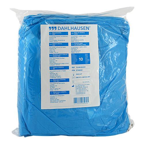 P.J.Dahlhausen & Co.GmbH Besucherkittel blau 02708832
