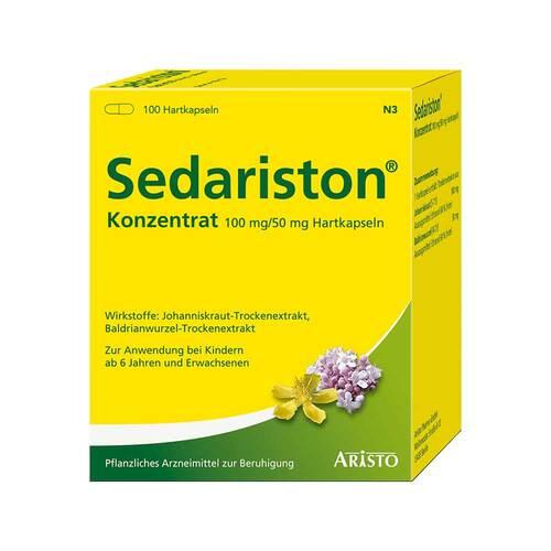Aristo Pharma GmbH Sedariston Konzentrat Hartkapseln 02787783