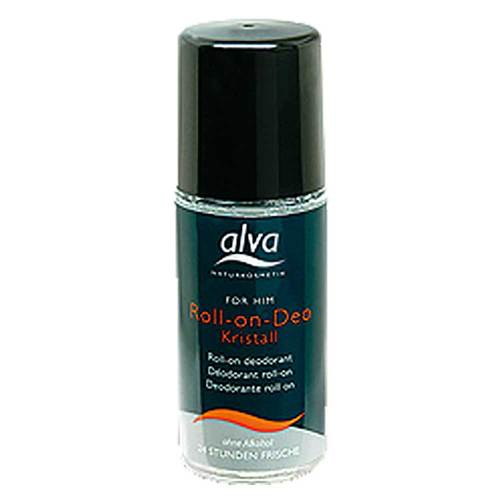 alva naturkosmetik GmbH & Co. KG Alva for him Roll on Kristall-Deo 02833804