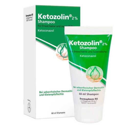 DERMAPHARM AG Ketozolin 2% Shampoo 02837742