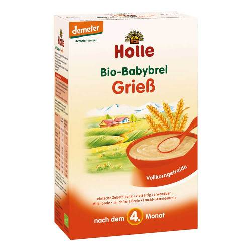 Holle baby food AG Holle Bio Babybrei Grieß 02907862