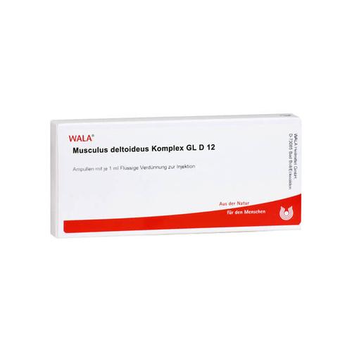 WALA Heilmittel GmbH Musculus Deltoideus KOMP. GL D 12 Ampullen 02937159