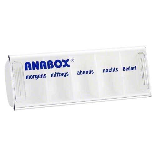 WEPA Apothekenbedarf GmbH & Co KG Anabox Tagesbox weiß 03029719