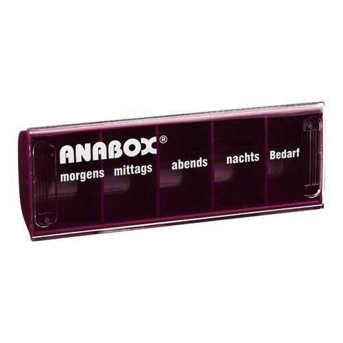 WEPA Apothekenbedarf GmbH & Co KG Anabox Tagesbox rot 03029777
