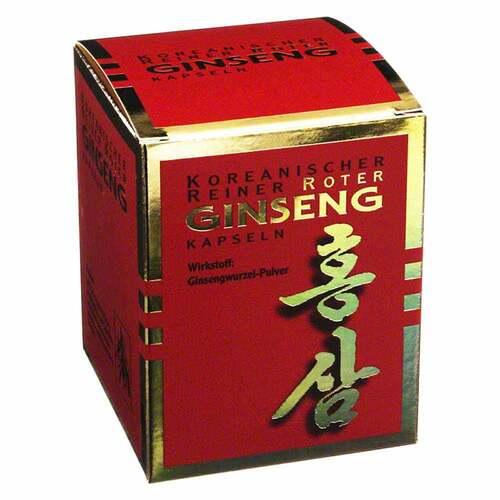 KGV Korea Ginseng Vertriebs GmbH Roter Ginseng Kapseln 300 mg 03157593