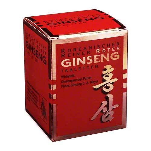 KGV Korea Ginseng Vertriebs GmbH Roter Ginseng Tabletten 300 03157601