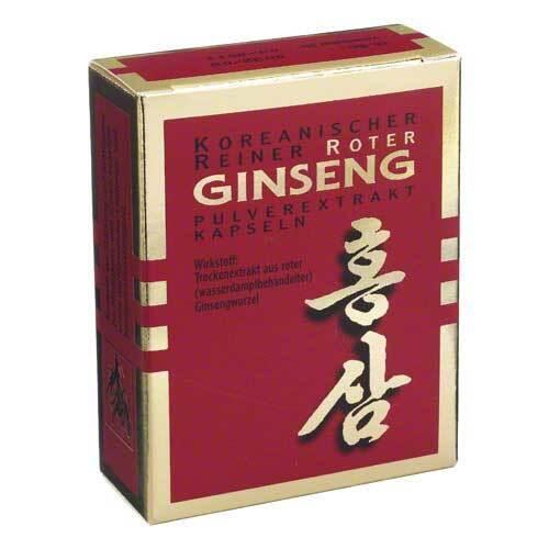 KGV Korea Ginseng Vertriebs GmbH Roter Ginseng Extrakt Kapsel 03444944