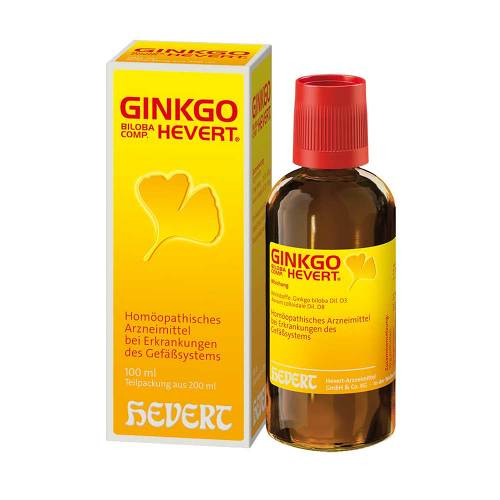 Hevert Arzneimittel GmbH & Co. KG Ginkgo biloba comp. Hevert Tropfen 03481721