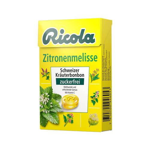 Queisser Pharma GmbH & Co. KG Ricola ohne Zucker Box Zitronenmelisse 03648782
