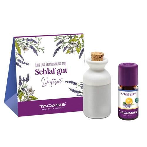 TAOASIS GmbH Natur Duft Manufaktur Schlaf gut Duftset mit Tonkrug + Öl 03731980