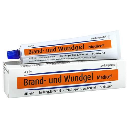 MEDICE Arzneimittel Pütter GmbH&Co.KG Brand- und Wundgel bei Verbrennungen 03839631