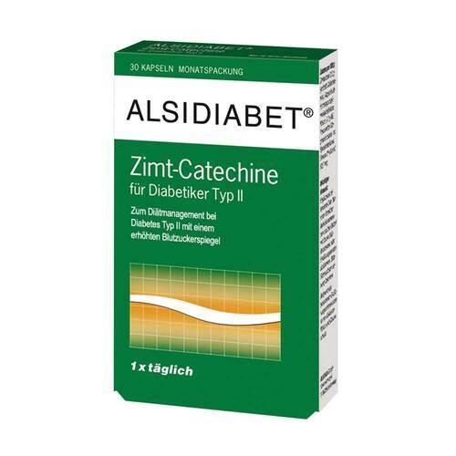 Alsitan GmbH Alsidiabet Zimt Catechine für Diabetiker Typ II 03896675