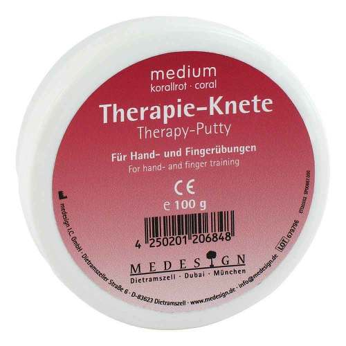 medesign I. C. GmbH Therapieknete medium korallr 04006413