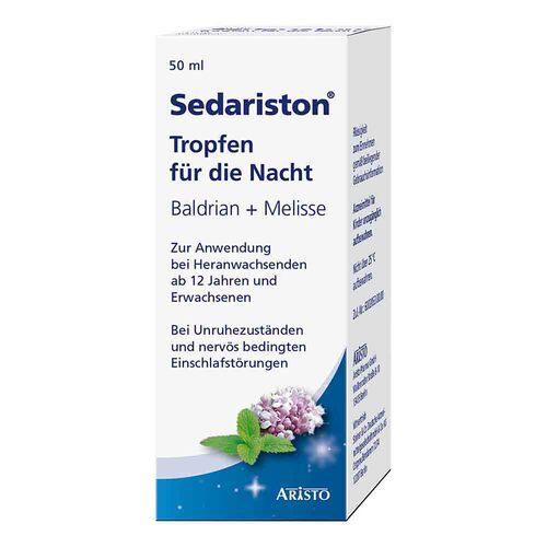 Aristo Pharma GmbH Sedariston Tropfen für die Nacht 04218026