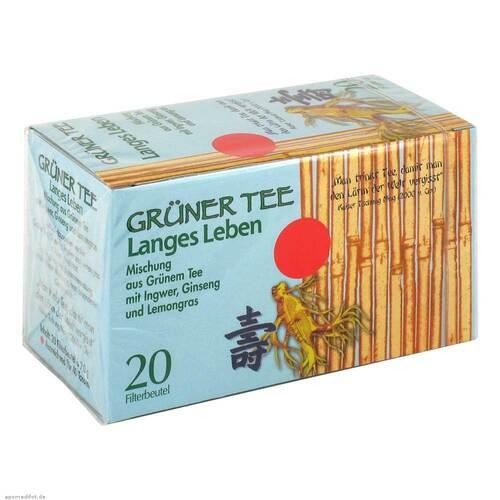 ALLPHARM Vertriebs GmbH Grüner Tee + Ingwer + Ginseng Filterbeutel 04401405