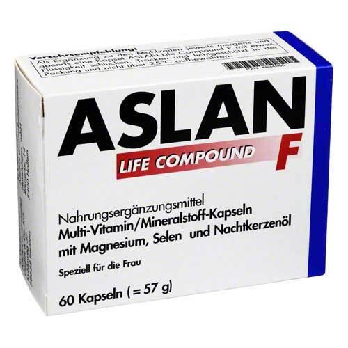 Aslan GmbH Aslan Life Compound F Kapsel 04834506