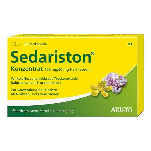 Aristo Pharma GmbH Sedariston Konzentrat Hartkapseln 04991772