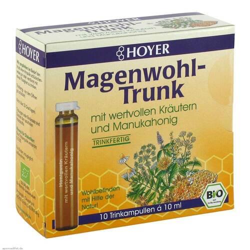HOYER GmbH Hoyer Magenwohl-Trunk Trinkampullen 05567622