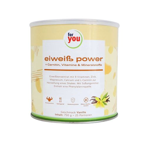 For You eHealth GmbH For You Eiweiß Power Vanille 06147514