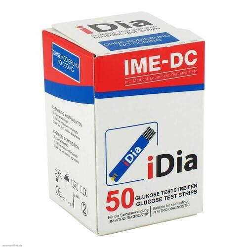 IME-DC GmbH Ime DC Idia Blutzuckerteststreifen 06426496