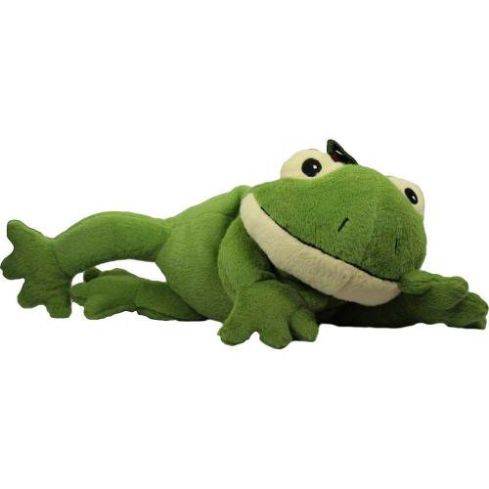 Wärme Stofftier Frosch Willi grün 06834120