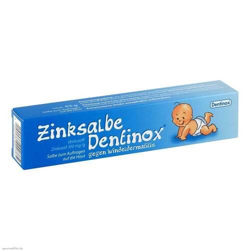Dentinox Gesellschaft für pharmazeutische Präparate Zinksalbe Dentinox gegen Windeldermatitis 06966933