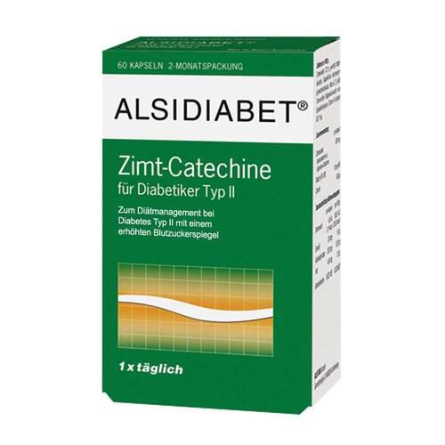 Alsitan GmbH Alsidiabet Zimt Catechine für Diabetiker Typ II 07026899