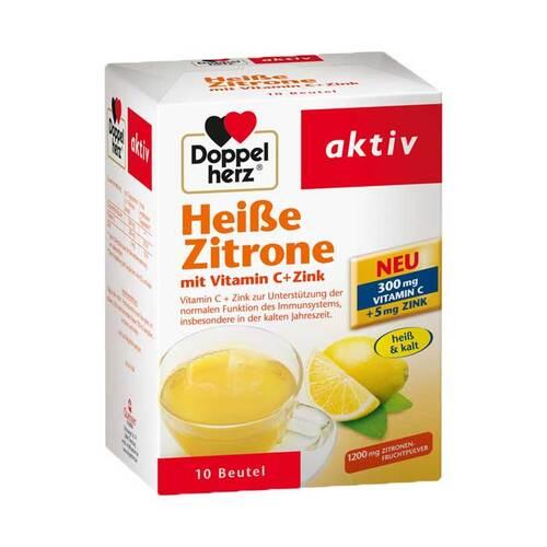 Queisser Pharma GmbH & Co. KG Doppelherz Heiße Zitrone Vitamin C+Zink Granulat 07091098