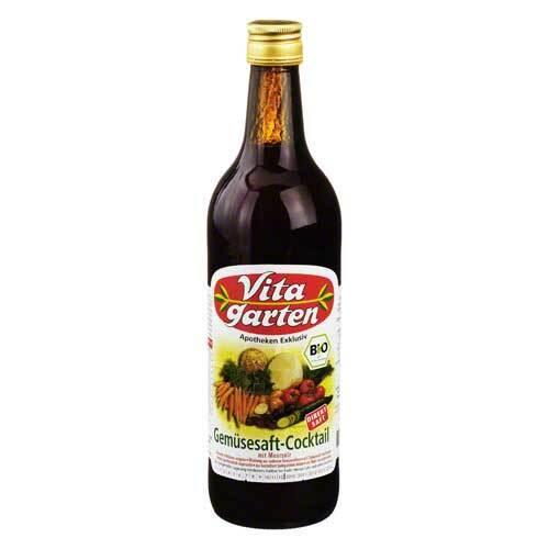 Obstsaftkelterei Vitagarten Gemüse Cocktail Saft biologisch 07221744