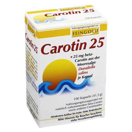 Burton Feingold Carotin 25 Feingold Kapseln 07291839