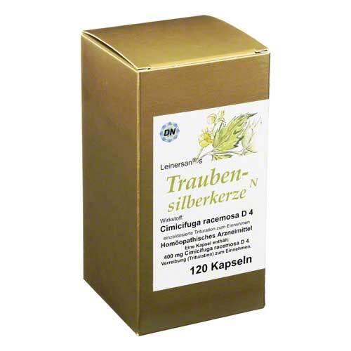 Diamant Natuur GmbH Traubensilberkerze Kapseln 07335672