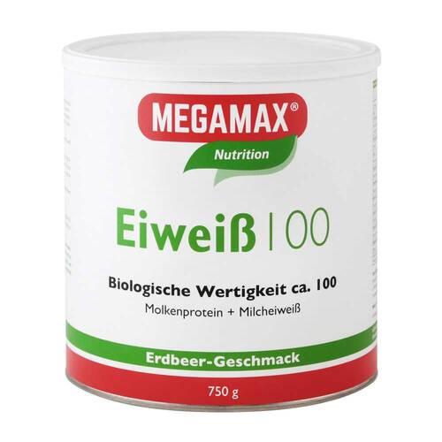 Megamax B.V. Eiweiss 100 Erdbeer Megamax 07345860