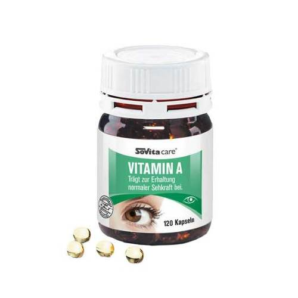 ascopharm GmbH Sovita care Vitamin A 07478207