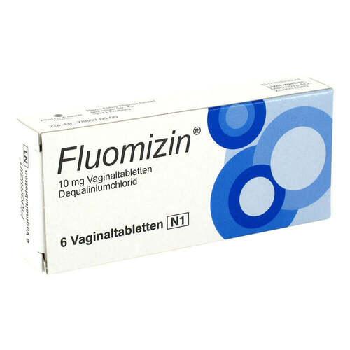 Pierre Fabre Pharma GmbH Fluomizin 10 mg Vaginaltabletten 07618192