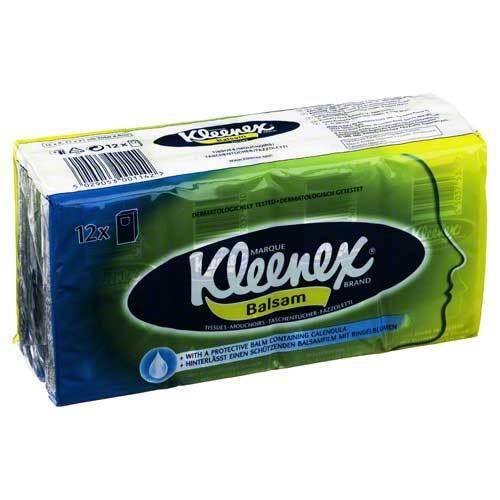 Kimberly-Clark GmbH Kleenex Balsam Taschentücher 07691591